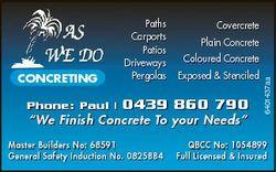 Phone: Paul | Covercrete Plain Concrete Coloured Concrete Exposed & Stenciled 0439 860 790 &quot...