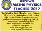 Senior MathS PhySicS teacher 2017 6435764aa the School of total education is an independent P-12 school in Warwick Queensland with a unique philosophy involving small class sizes, enriching teaching environment and emphasis on character development. We are looking for a Senior Maths/Physics teacher for 2017. Full or Part Time ...