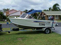 STACER 4.2 420 Seahawk, 30hp Yamaha, all safety gear, f/finder, GPS, marine radio, all reg, E/C,...