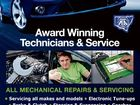 6385766ab * Servicing all makes and models * Electronic Tune-ups * Brake & Clutch * Steering & Suspension * Gearbox * Warning Indicators * EFI Diagnostics * Wheel Balance * Exhaust * Computerised Wheel Alignment * Batteries * Radiators * RMS Inspections * QBE Greenslips * Brake Hose Manufacture * Engine/Emissions Testing * Pre-Purchase Inspections &Advice * Free Pick-up & Delivery Licencee C J Albertini - MVRIC Lic No 29731