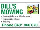 Bill's Mowing