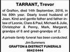 TARRANT, Trevor