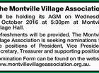The Montville Village Association