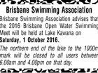 Brisbane Swimming Association