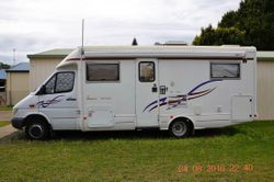 2003 Mercedes Sprinter 413 CDI diesel, Winnebago Freewind, 109,000 KM, 3 way fridge, solar panels, n...