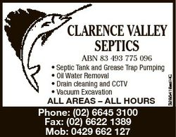 ABN 83 493 775 096 * Septic Tank andTank Greaseand Trap Pumping * Septic * Grease Oil Water Removal...