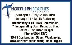 Sunday 8 - Holy Communion Sunday 10 - Family Gathering Wednesday 10 - Holy Communion * Incorporating...
