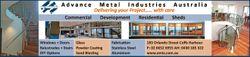 Advance Metal Industries Australia Windows + Doors Glass Balustrades + Stairs Powder Coa ng DIY Op o...