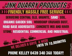 JNKLandscape QUARRY PRODUCTS JNK Supplies Friendly hassle free service er 6 we deliv a weeK 10,000mt...