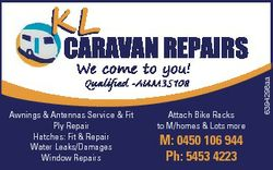 KL We come to you! Qualified -AUM35108 Awnings & Antennas Service & Fit Ply Repair Hatches:...