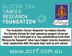 6437304aa The Australian Cancer Research Foundation thanks The Glennie School for their generous sup...