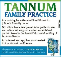 Are looking for a General Practitioner to join our friendly team Our clinic has a real passion for p...
