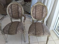 6 antique (copy) chairs in good condition