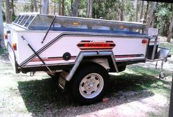 CAMPOMATIC - Off Road all galv', camper trailer, ind coil susp, Q bed, slide out kitchen, 2...