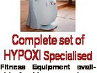 Complete set of HYPOXI Specialised Fitness Equipment