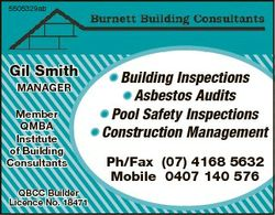 5505329 b 5505329ab Gil Smith MANAGER Member QMBA Institute of Building Consultants QBCC Builder Lic...