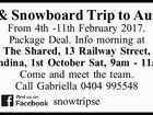 Ski & Snowboard Trip to Austria