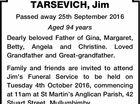 TARSEVICH, Jim