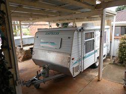 """2003 Empress Gem poptop 14'6"""",  island double bed,  air con,  3 way..."""