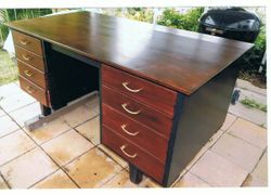L 153 X W 80 X H 75    4 drawers  each side