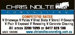 COMPETITVE RATES  Driveways  Patios  Shed Slabs  Stencil  Covacret  Plain  Exposed  Resealing  Concr...
