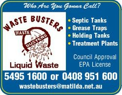 Who Are You Gonna Call? * Septic Tanks * Grease Traps * Holding Tanks * Treatment Plants Liquid Wast...