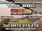 Thinking of renovating or building? * New Homes mes * Scaffold Supply * Alterations & Additions * Maintenence * Decks & Pergolas lic 43264 Call 0412 214 112 bbl.building@gmail.com 5733825aaHC Think BBL!