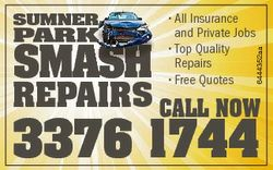 PaRK aSH SH SMaSH * All Insurance and Private Jobs * Top Quality Repairs * Free Quotes 6444352aa SUM...