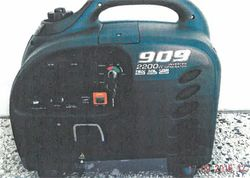 GENERATOR Inverter 909 2200W, key start, never used, new price. $450. Phone 0427424742.