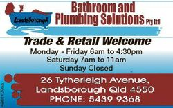 4862129aa Trade & Retail Welcome Monday - Friday 6am to 4:30pm Saturday 7am to 11am Sunday Close...