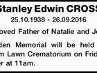 Stanley Edwin CROSS