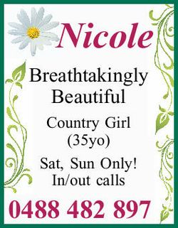 Breathtakingly Beautiful Country Girl (35yo) Sat, Sun Only! In/out calls