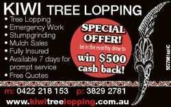 * Emergency Work * Stumpgrinding * Mulch Sales * Fully Insured * Available 7 days for prompt service...