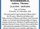 WOODBRIDGE, Aubrey Thomas