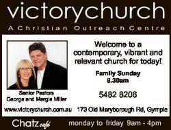 victorychurch A C h ri st i a n O u t re a c h C e n t re Welcome to a contemporary, vibrant and rel...