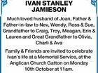 IVAN STANLEY JAMIESON