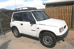 95 Suzuki Vitara Man, RWC, rego 12/16, new tyres & windscreen, luggage rack, also hitch &...