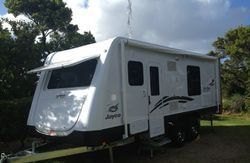 2012 Jayco Sterling Outback - Model 20.64.3 with VIN /CHASSIS : 6AM000000C1P71880. The van has a Lar...