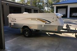Outback Camper 2010  bearly used, comes complete with gas stove, 3 way Fridge/Freezer, Large front B...
