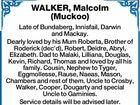 WALKER, Malcolm (Muckoo)