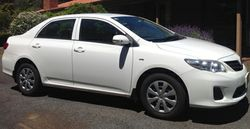 TOYOTA Corolla Ascent 2012,