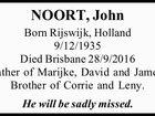 NOORT, John