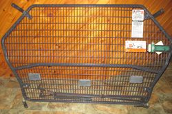 Very Good Used Condition, with all brackets and bolts, easy installation - screw in 4 bolts by hand....