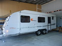 "2010 Nova Vita, 20ft X 6"", 6"" chassis, 15"" wheels, dble glazed window, twin beds,..."