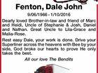 Fenton, Dale John