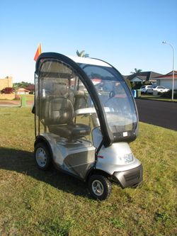 Afkin Breeze S4 - Top of range - fully enclosed - $9400 new .