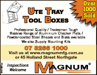 Ute tray tool Boxes Over 1000 Sold   Professional Quality / Tradesman Tough   Massive Ran...