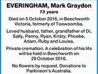 EVERINGHAM, Mark Graydon