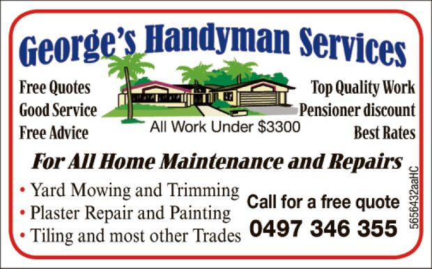 GEORGE'S HANDYMAN SERVICES