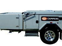 CAMPER TRAILER FORWARD FOLD